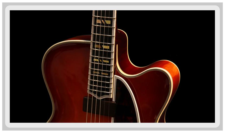 Guitare mill sime de g rard defurne luthier